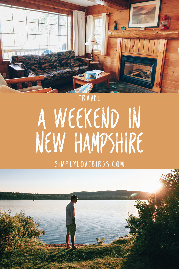 Spend your summer at a lakeside cabin at Tall Timber Lodge, Pittsburg, New Hampshire
