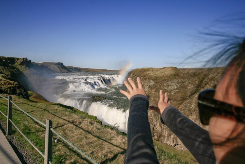 Chasing Waterfalls, Gullfoss, Golden Circle, Iceland
