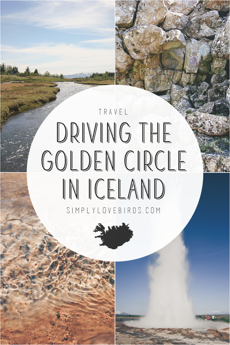 Driving the Golden Circle in Iceland