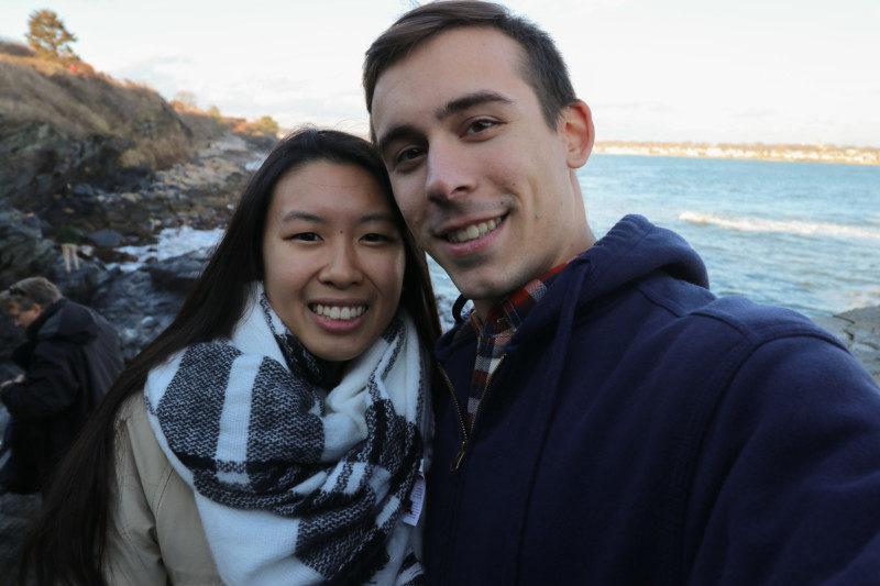 Kim and Dan, 40 Steps, Newport, RI