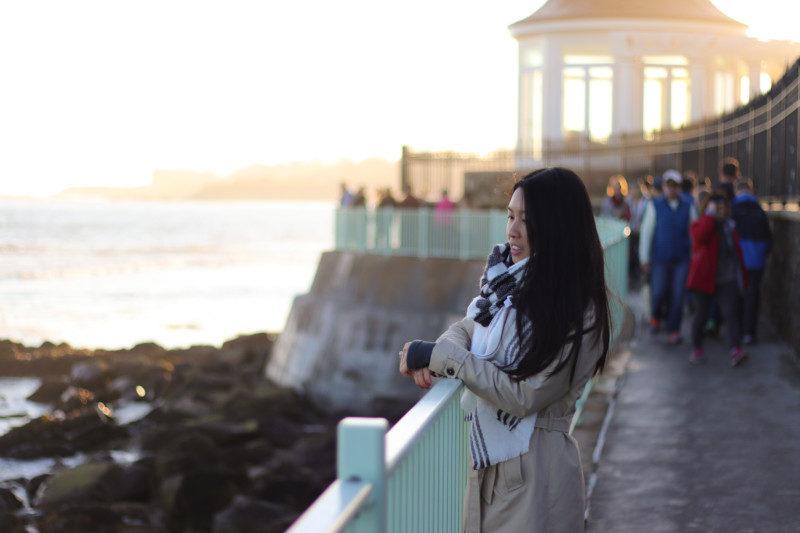 Me on the Cliffwalk, Newport, RI