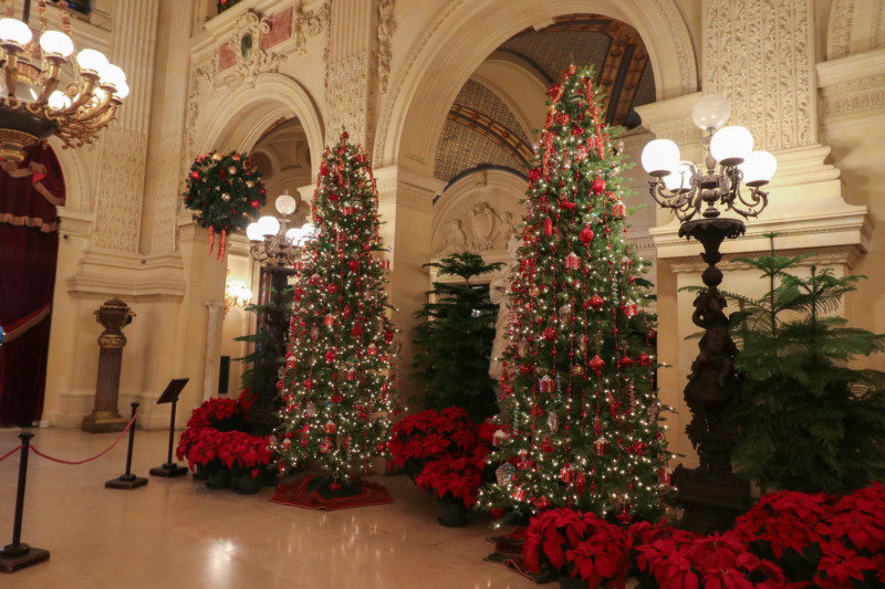 The Breakers Mansion at Christmas, Newport, RI