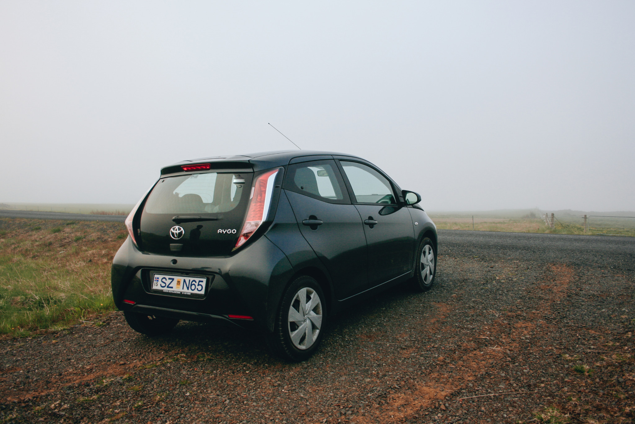 Toyota Aygo, Blue Car Rentals, Rental Car in Iceland