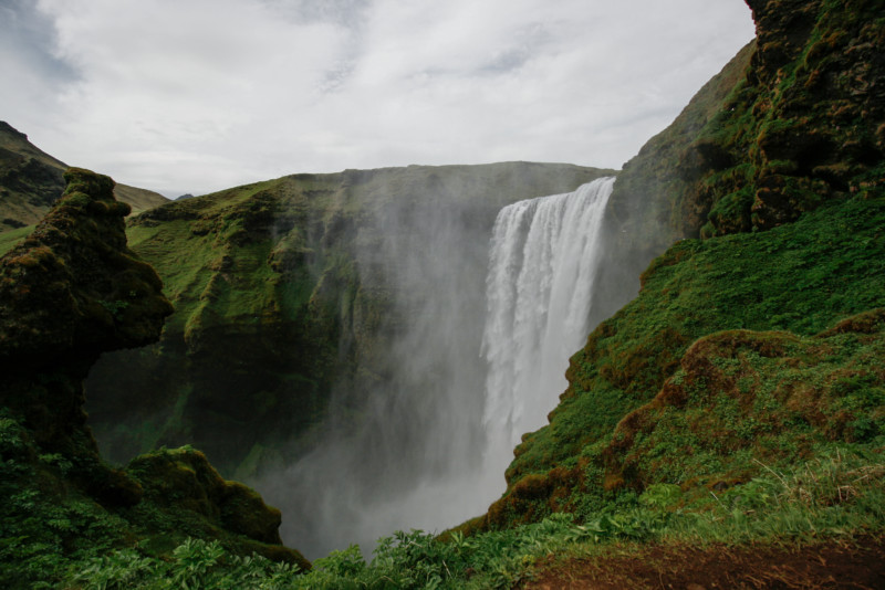 Skogafoss View from the Top