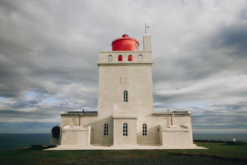 Lighthouse in Dyrholaey, Iceland