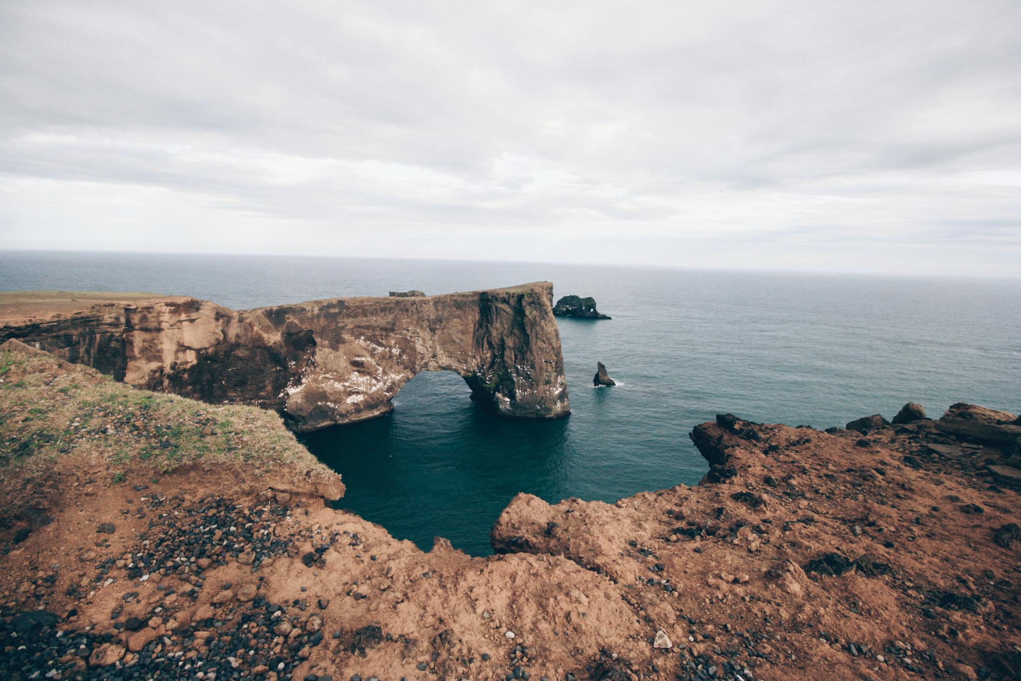 Dyrholaey Cliff, Iceland
