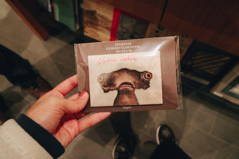 Funny Shark Magnet, Isabella Stewart Gardner Museum Gift shop