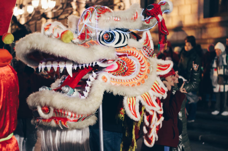 First Night Chinese Parade in Boston