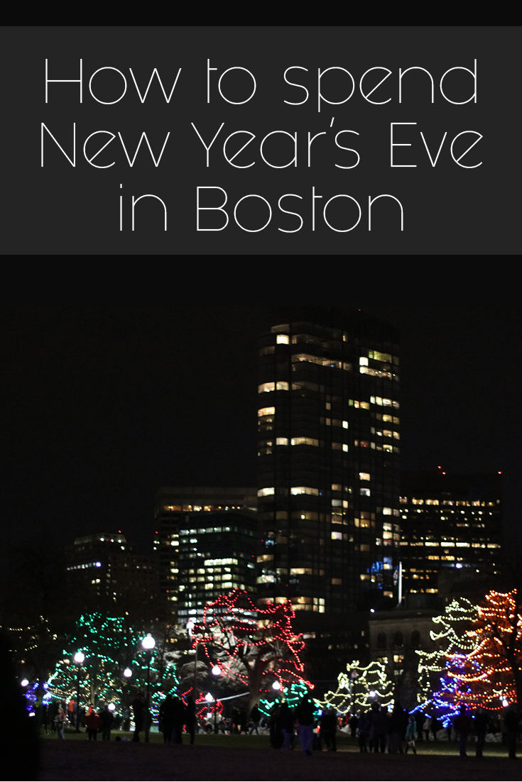New Year's Eve in Boston / simplylovebirds.com
