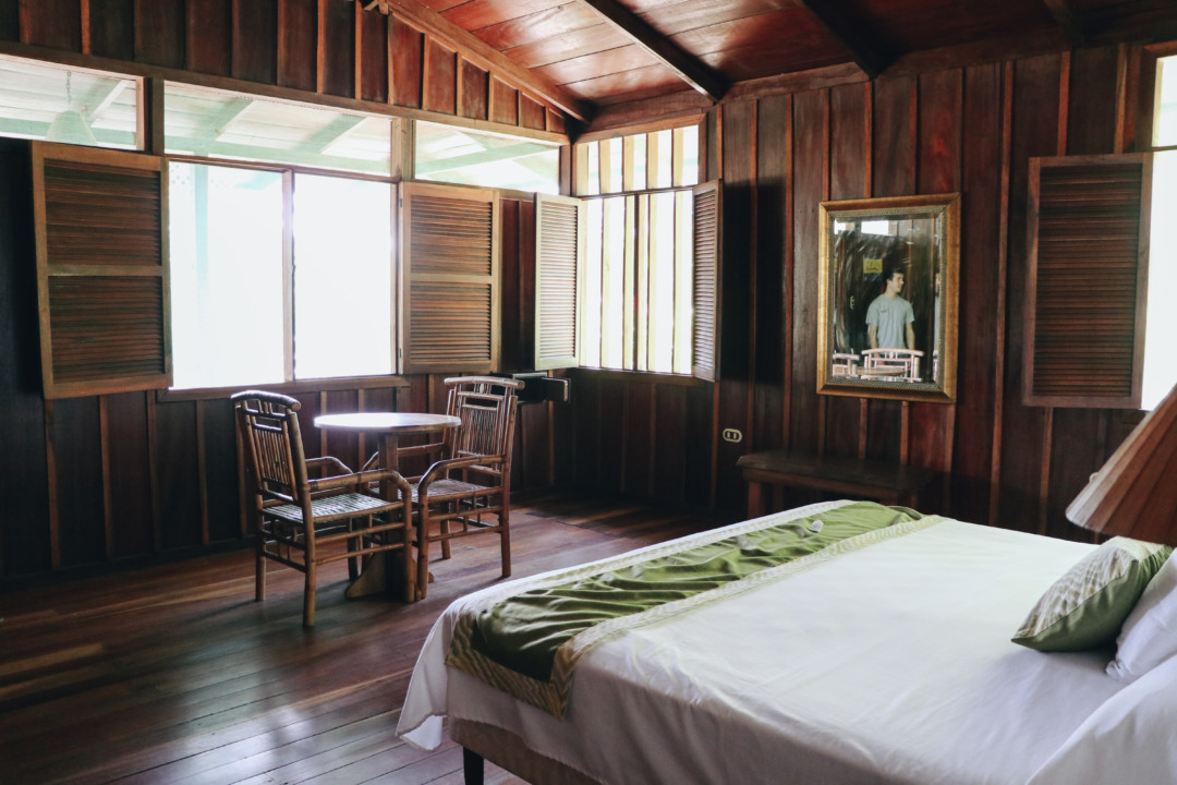 Room at Mawamba Lodge, Tortuguero, Costa Rica
