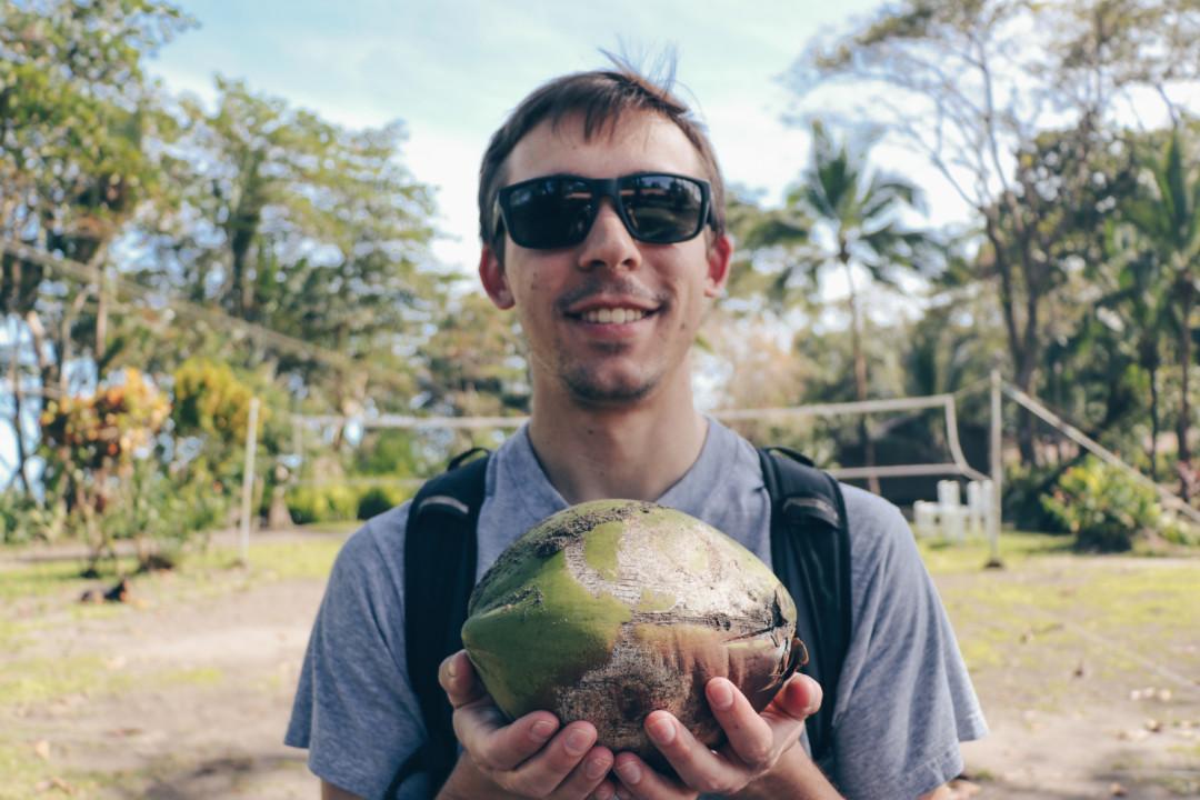 Coconuts at Mawamba Lodge, Costa Rica