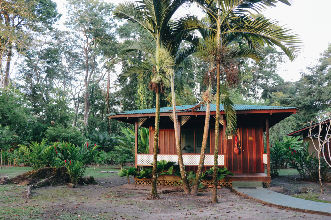 Cabin at Mawamba Lodge, Tortuguero, Costa Rica