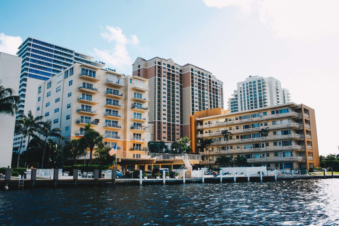 Hotels on the water, Fort Lauderdale, Florida