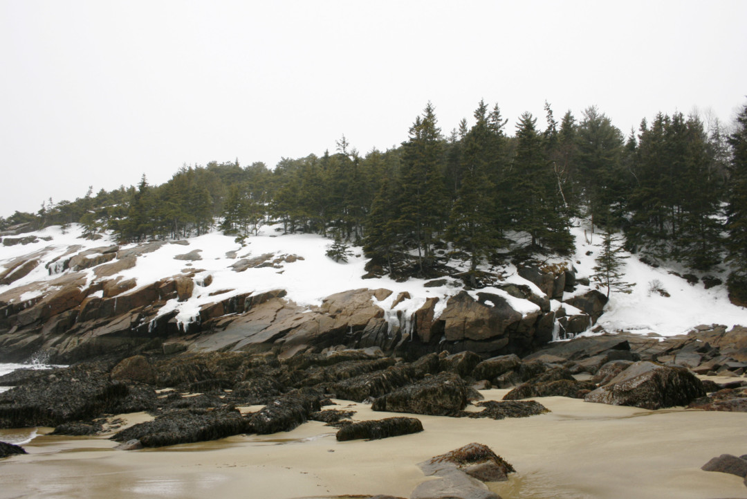 Acadia National Park in the Winter