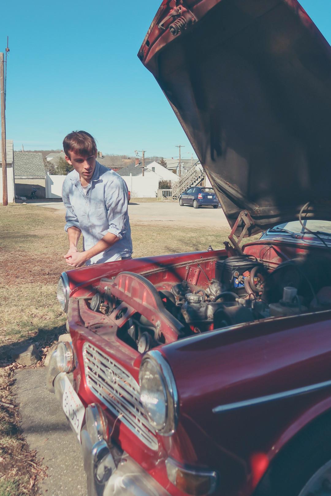 Fixing up the 1968 Volvo Amazon