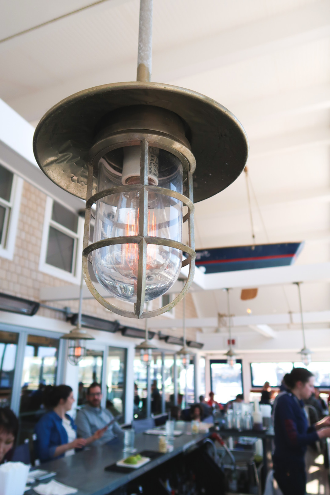 Light Fixtures in Red36 in Mystic, Connecticut