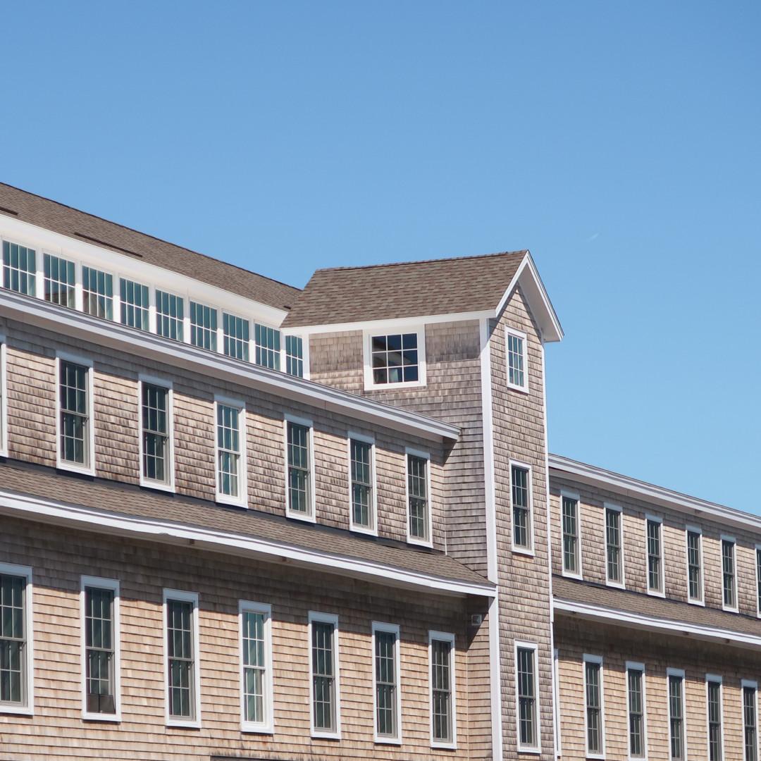 Building in Mystic, Connecticut