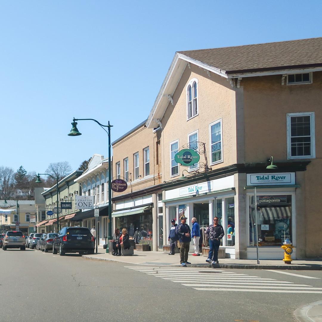 Downtown Mystic, Connecticut