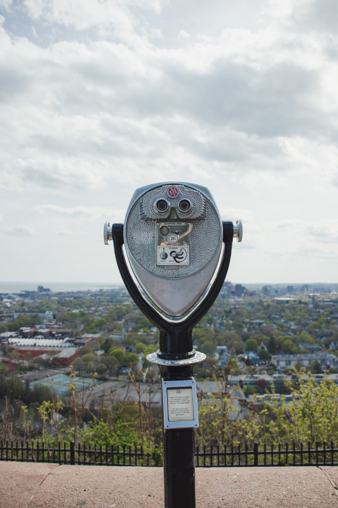 Tower Viewer at East Rock Park in New Haven, CT