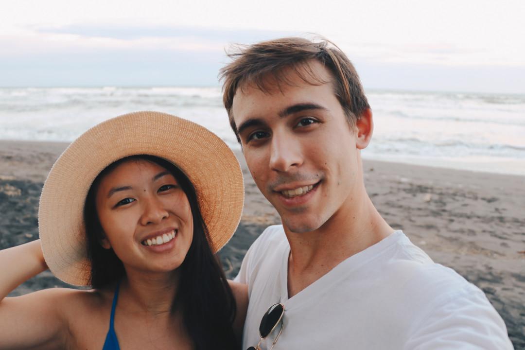 Kim and Dan in Costa Rica