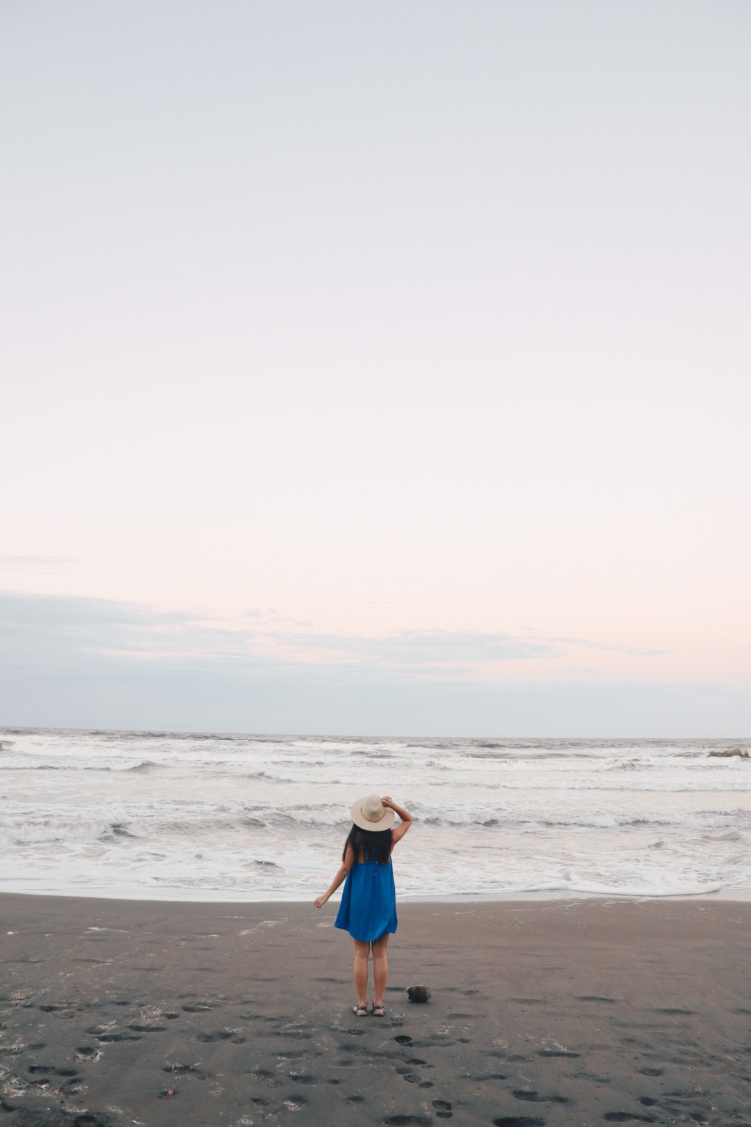 My Outfit of the Day on the beach in Costa RIca