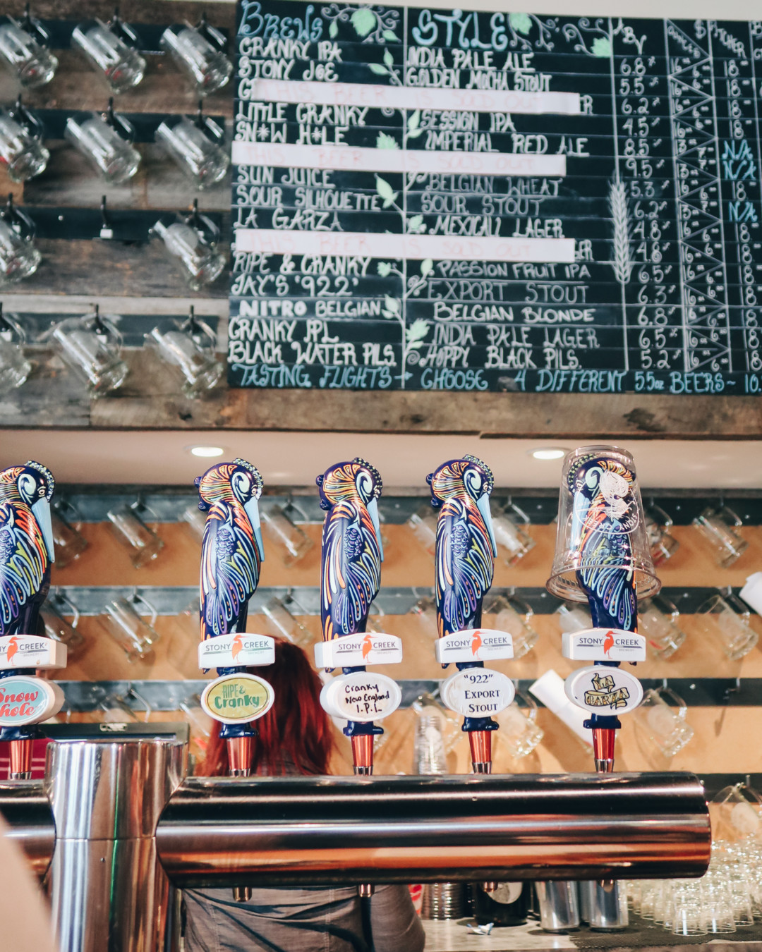 Stony Creek Brewery Tap Room, Branford, CT