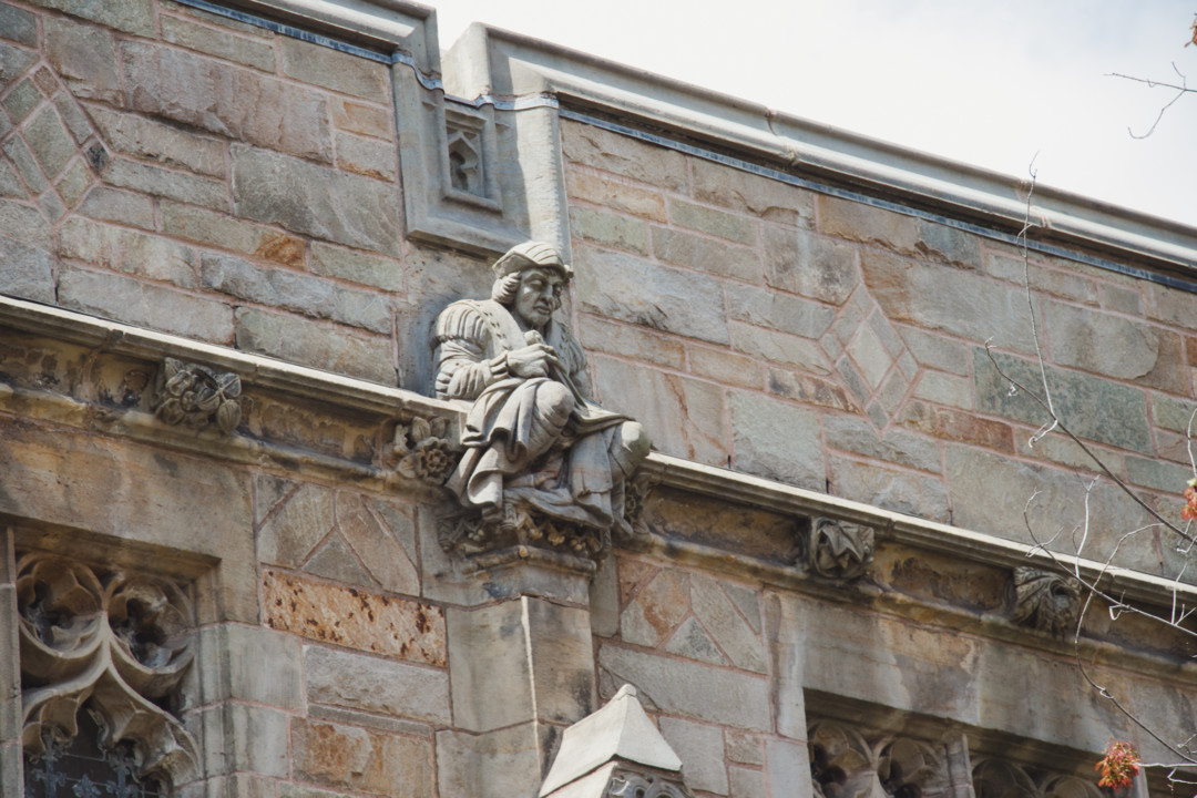 Details in Sterling Memorial Library at Yale University