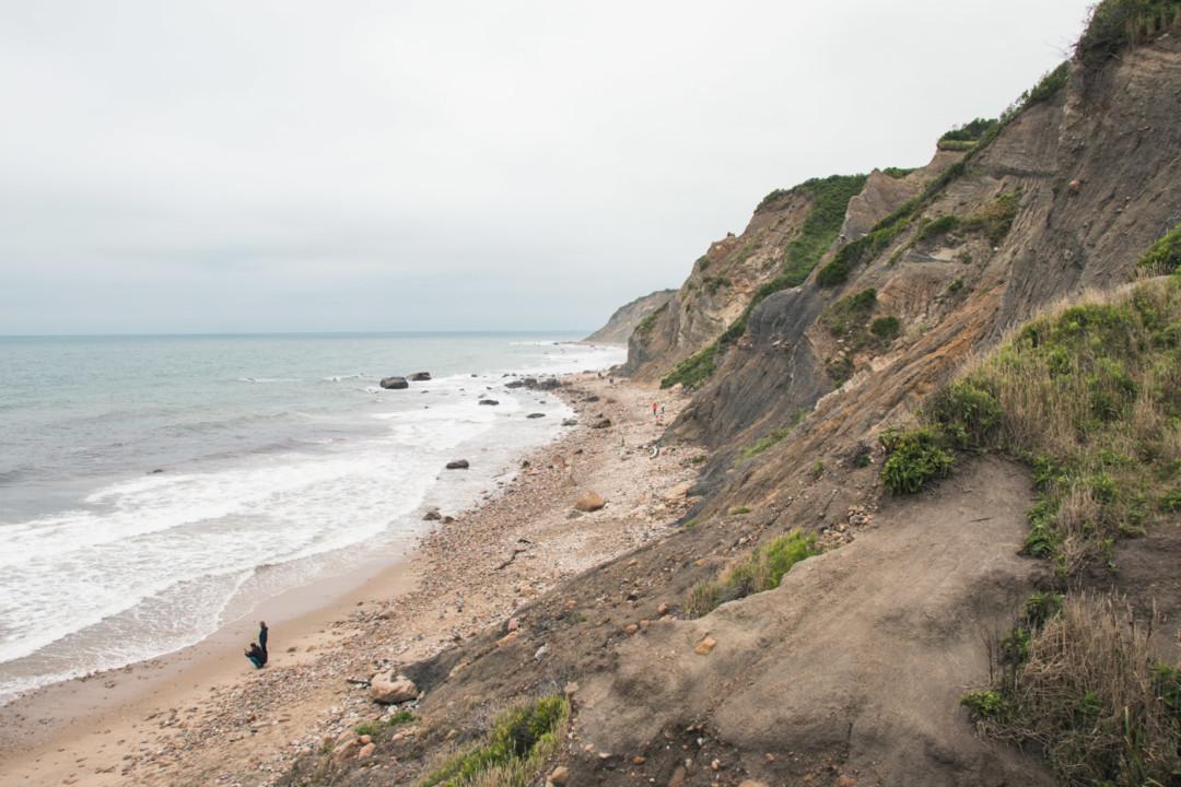 Mohegan Bluffs on Block Island