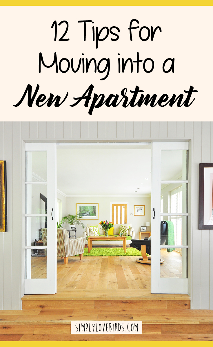 12 Tips for Moving into a New Apartment