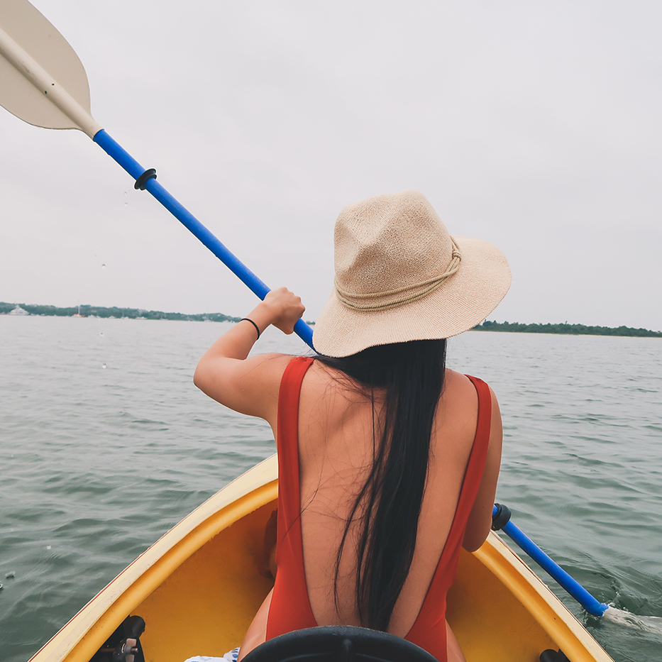 Kayaking on Block Island