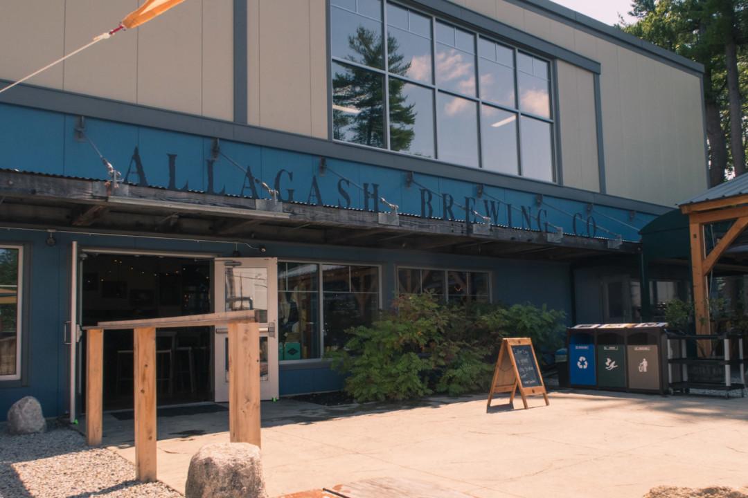 Allagash Brewery Exterior