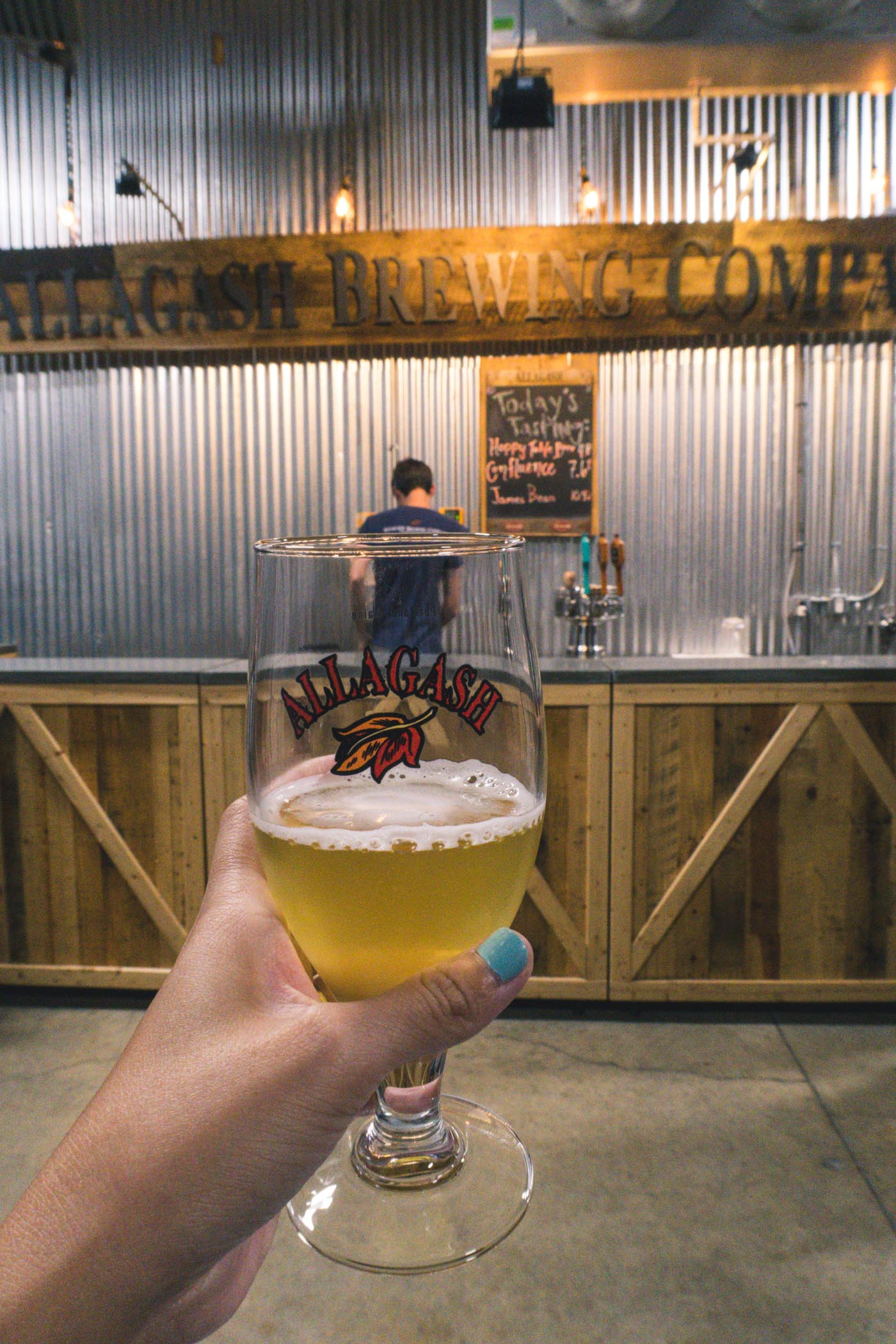 Cheers to Allagash Brewing Co., Portland, Maine