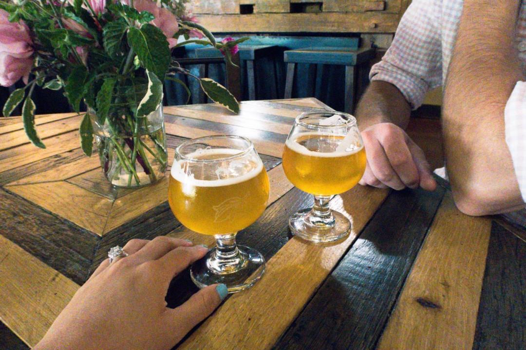 Allagash Brewery Starter Beer