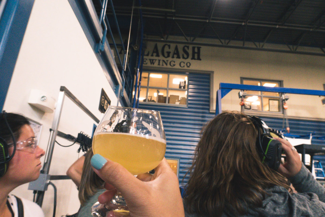Cheers to Allagash Brewery