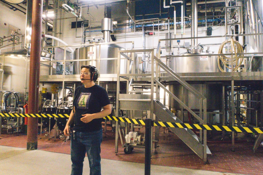 Tour Guide at Allagash Brewing Co., Portland, Maine