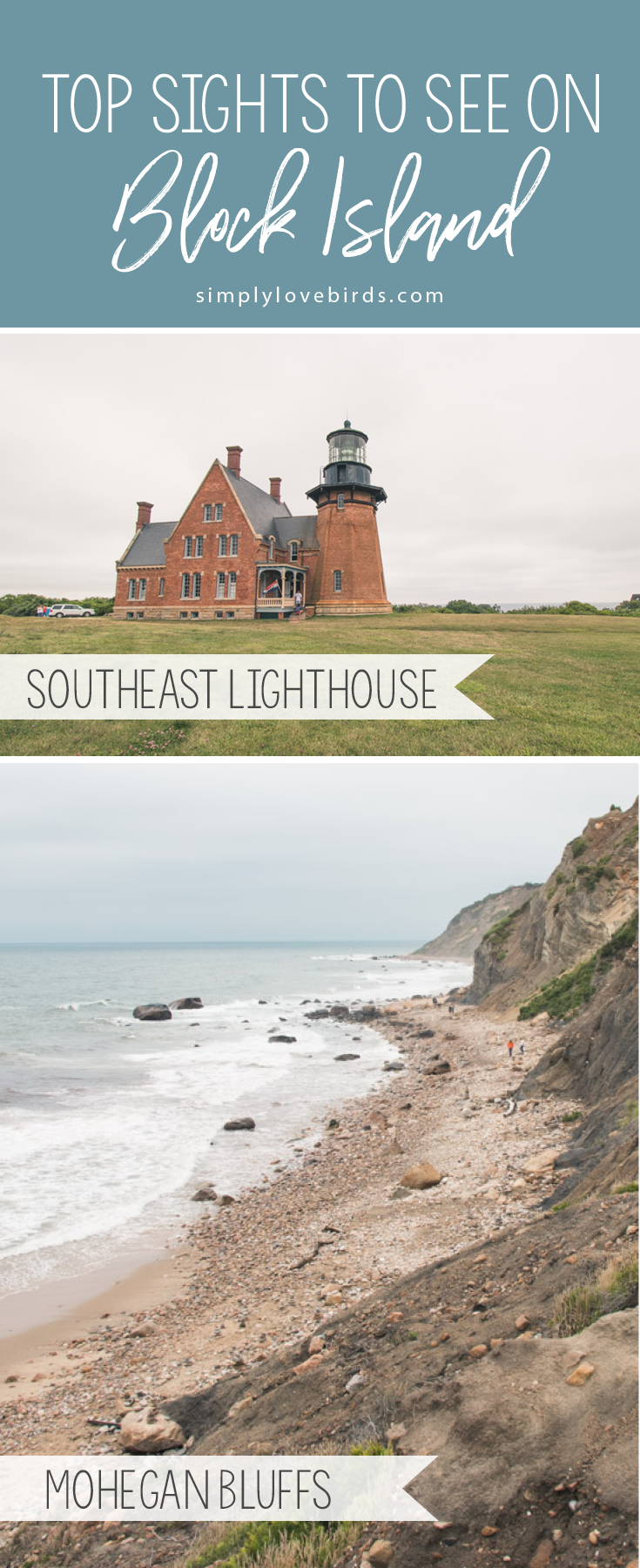 Top Sights to See on Block Island / Simply Lovebirds