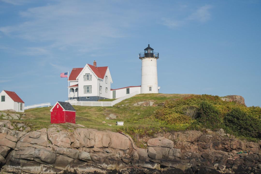 Cape Neddick (Nubble) Lighthouse / Simply Lovebirds / Kim Vo