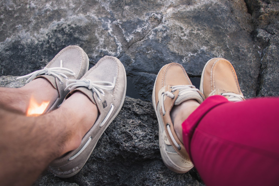 His and Hers Matching Sperry Boat Shoes / Simply Lovebirds