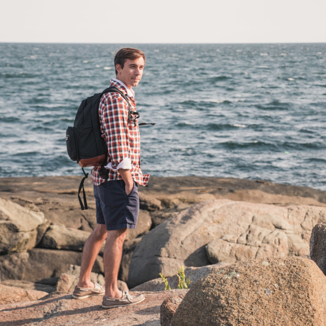 How to Wear Men's Flannel Shirt / New England Style Blogger / Simply Lovebirds