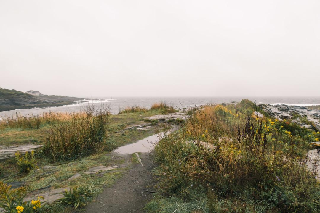 Portland Maine's Rocky Coastline