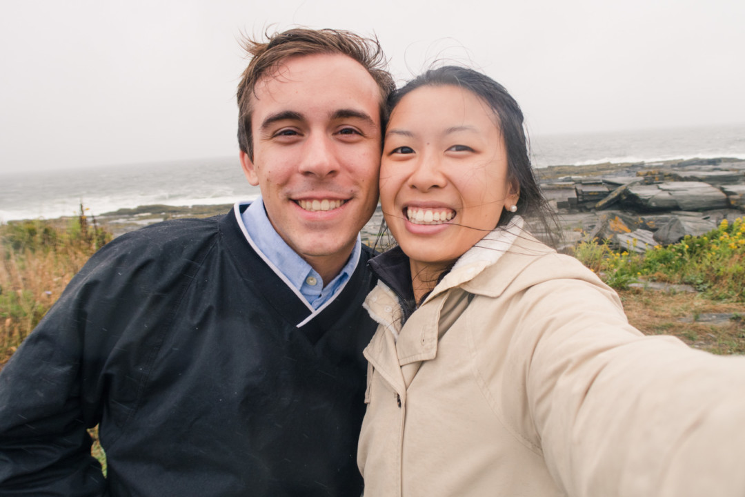Kim and Dan Traveling to Maine