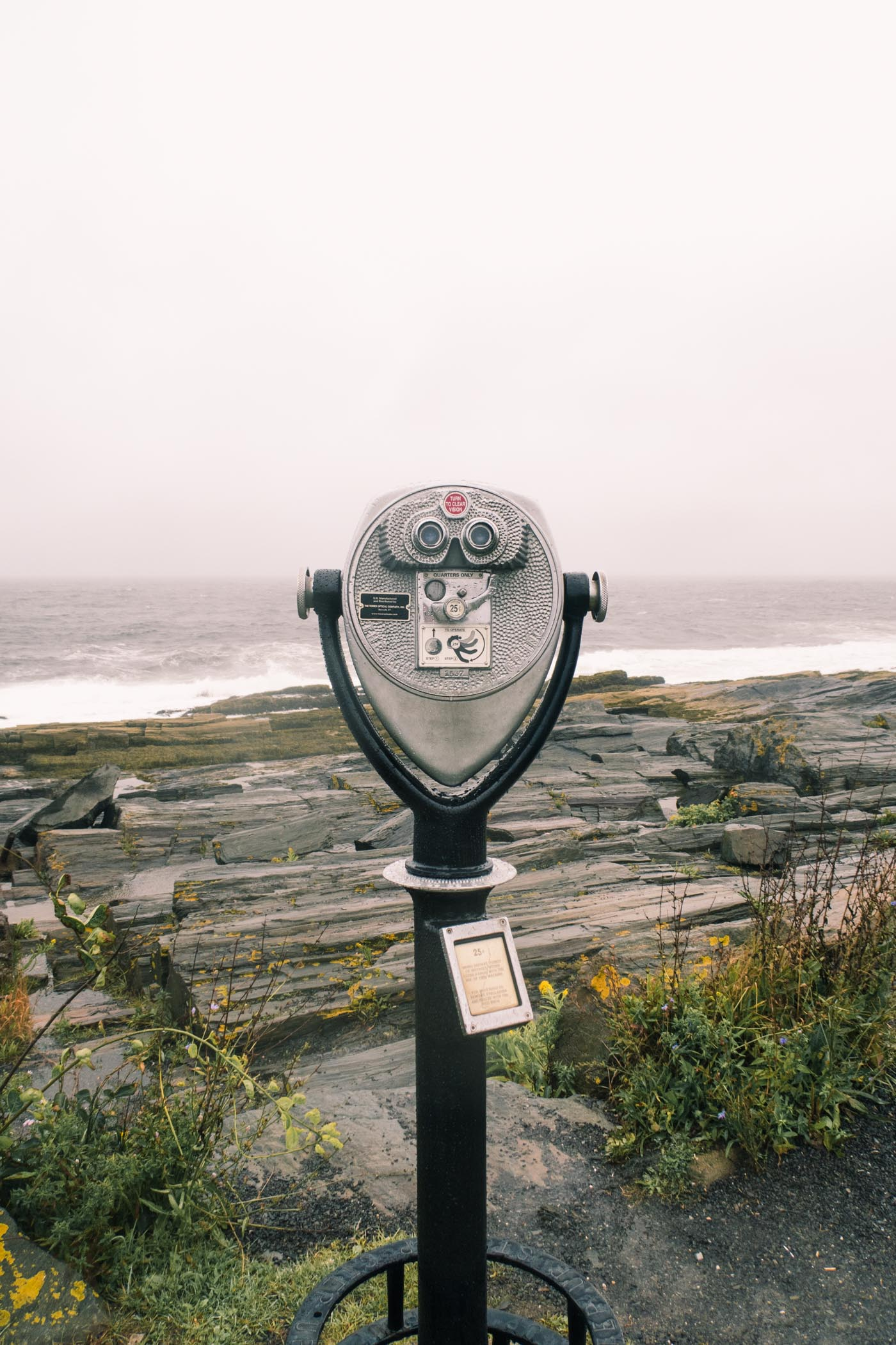 Viewing Binoculars in Portland, Maine | Simply Lovebirds