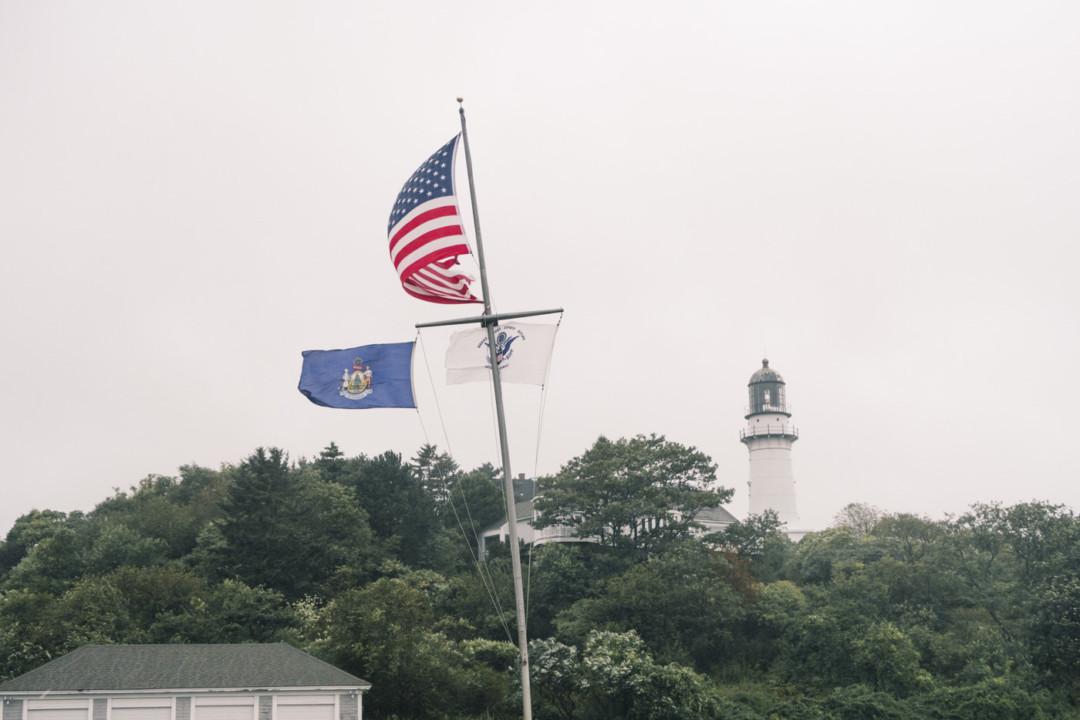 Windy Flagpole