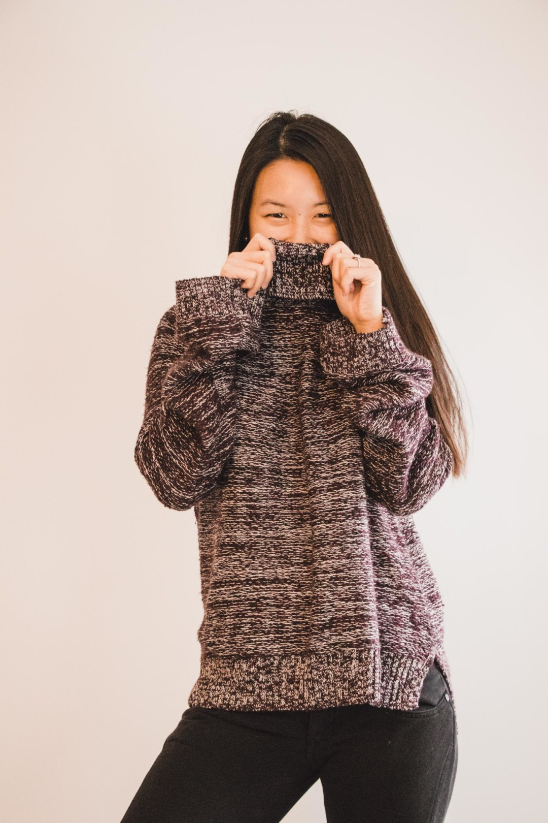 Classic Chunky Turtleneck Sweater from Hollister - Simply Lovebirds