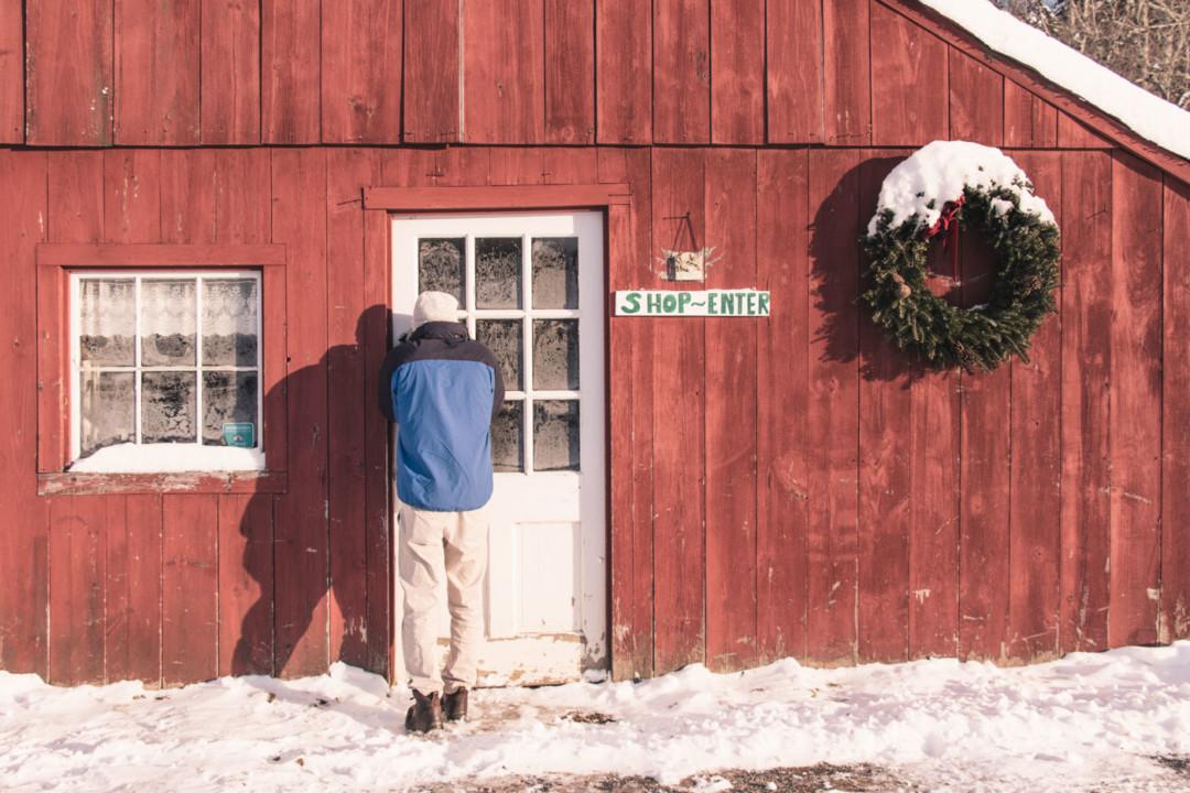 Plummer's Sugar House, Grafton, Vermont in the Winter - Simply Lovebirds
