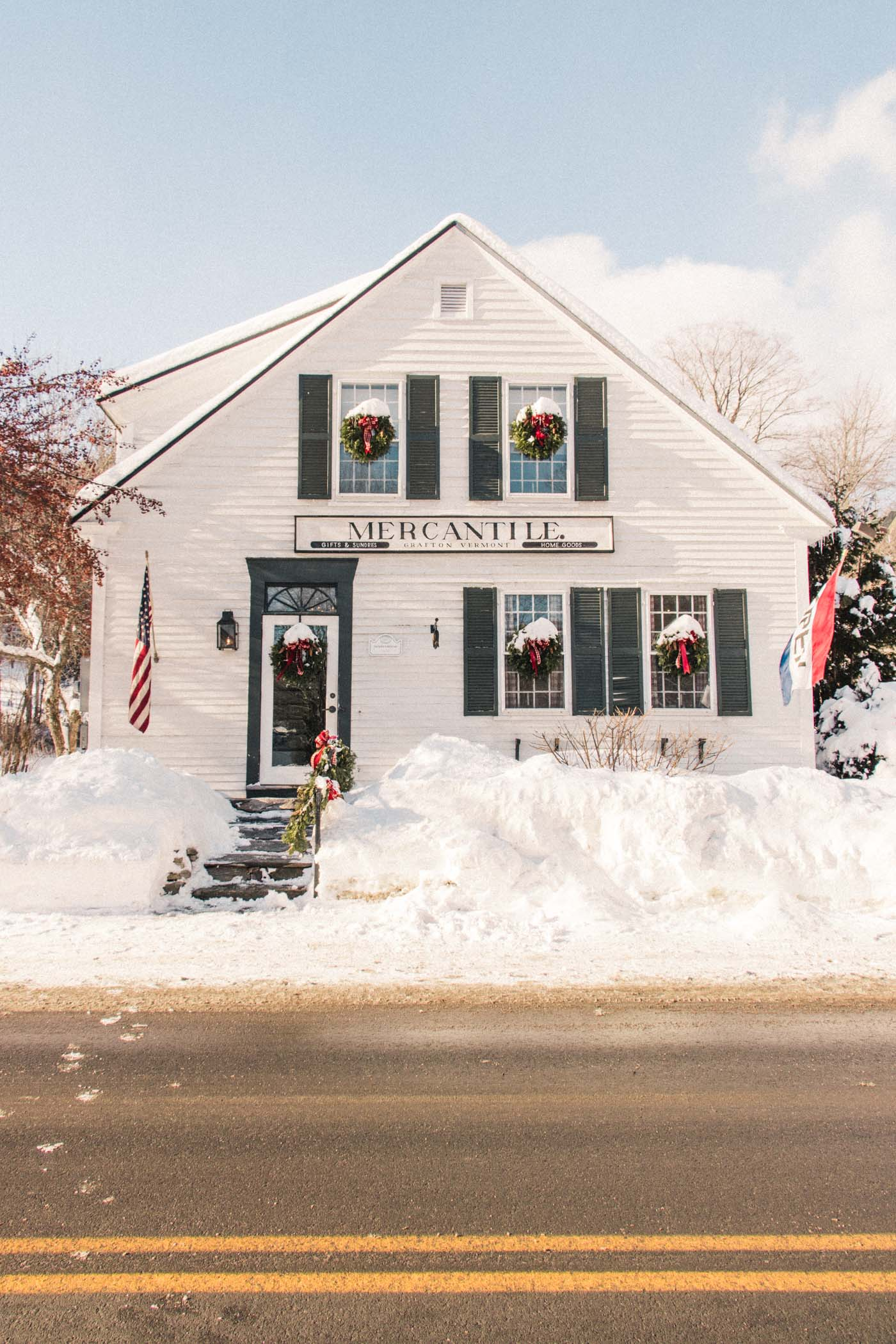 Mercantile: Antique Store in Grafton, Vermont - Simply Lovebirds