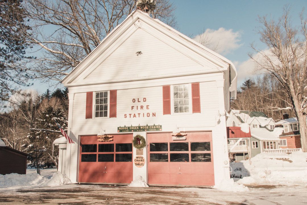 Old Fire Station in Grafton, Vermont