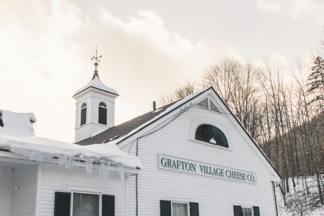 Grafton Village Cheese Co., in the Winter - Simply Lovebirds