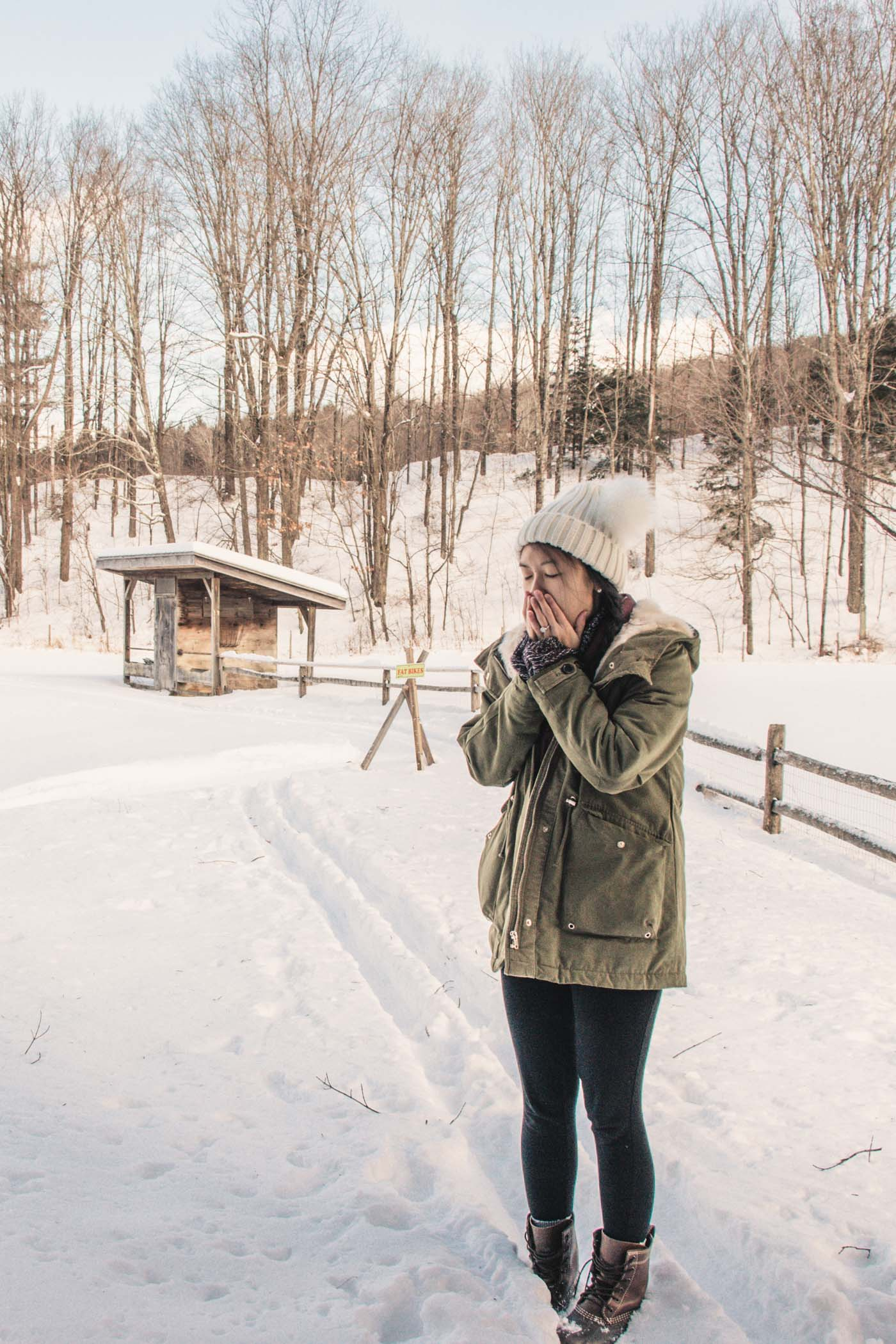 Grafton, Vermont in the Winter - Simply Lovebirds