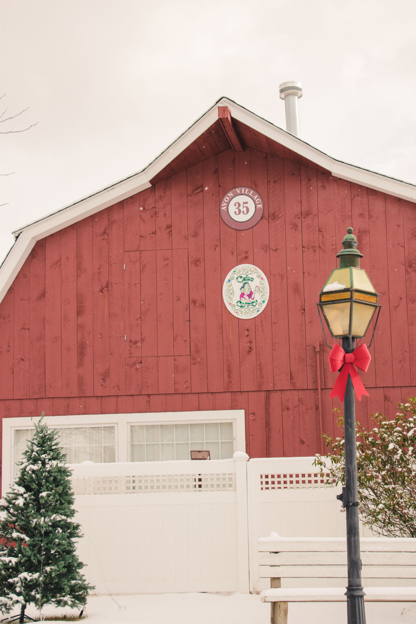 Avon Village Marketplace Barn in Connecticut